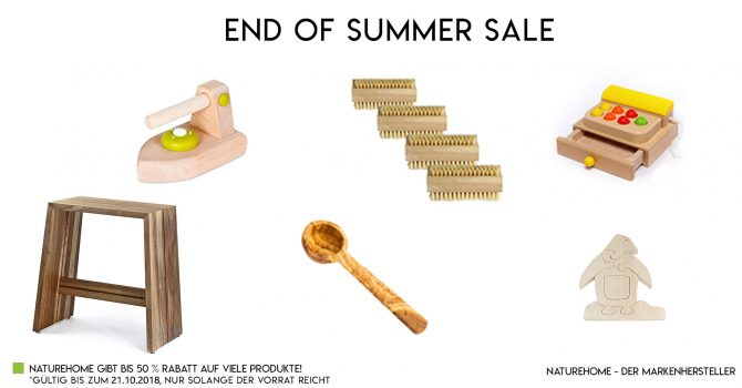 Summer sale % Naturehome
