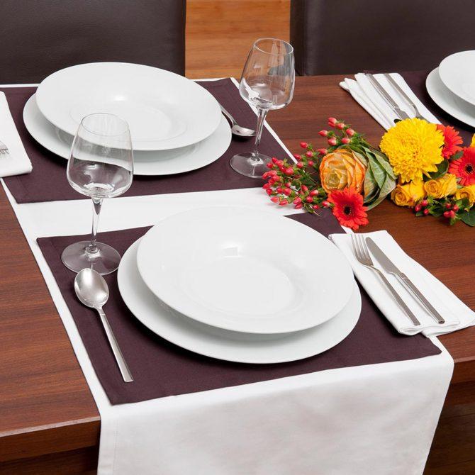 Tischläufer Bio-Baumwolle