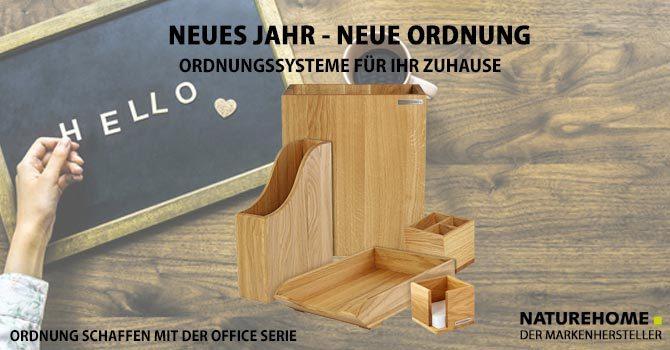 Design Büro Zubehör aus Holz