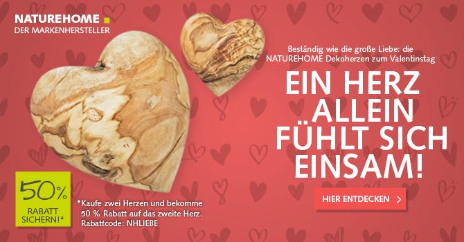 Valentinstag Geschenke mit Herz