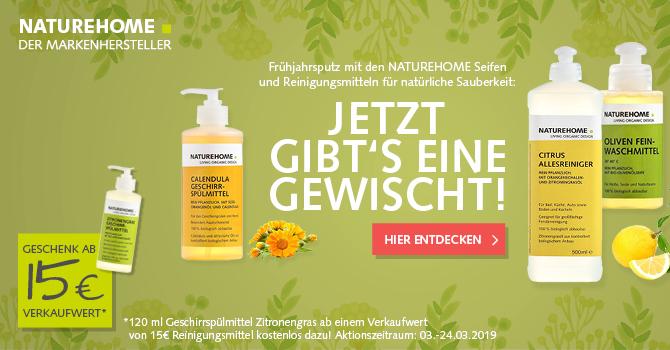Bio Reinigungsmittel gegen Keime