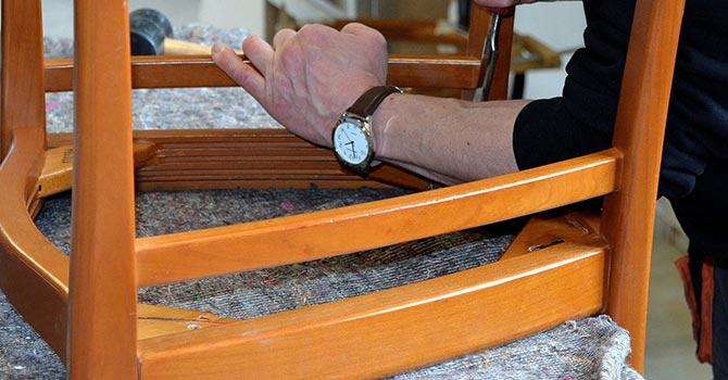 Holzmöbel umarbeiten - restaurieren