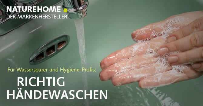 Händewaschen mit natürlichen Handseifen