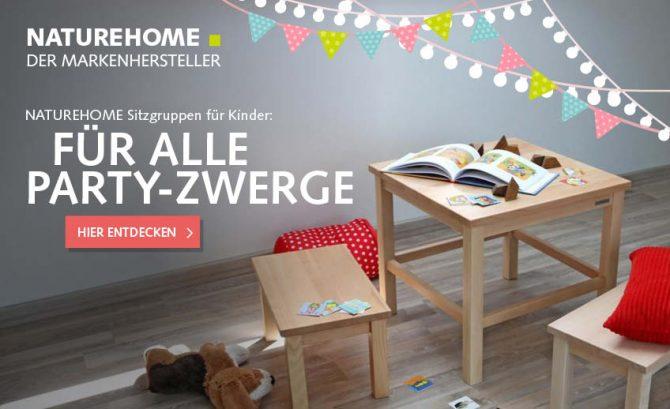 Kindersitzgruppe Buchenholz