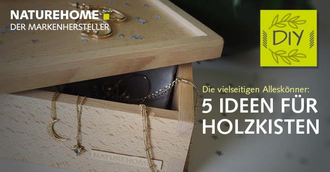 Holzkisten - Holzboxen aus Buche