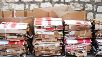 Karton recycling