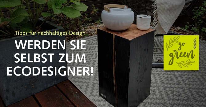 Eco Design + Nachhaltigkeit