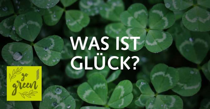 Glück Kleeblatt