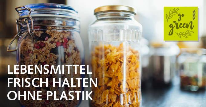 Lebensmittel ohne Plastik