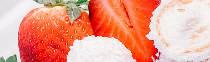 Topping Erdbeeren