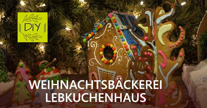 In der Weihnachtsbäckerei: DIY Lebkuchenhaus