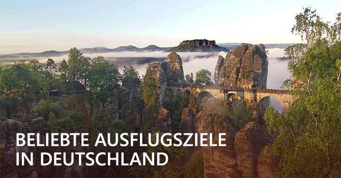 Beliebte Ausflugsziele: In der Natur zuhause, in Deutschland unterwegs