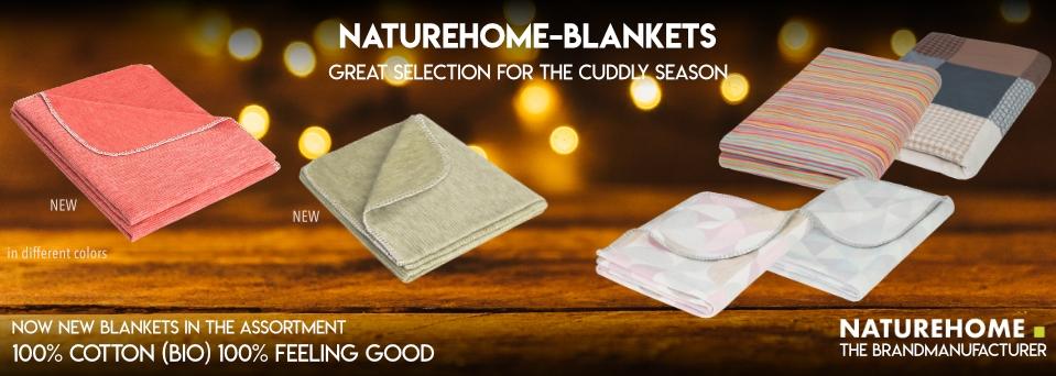 Blankets 100% Organic Cotton