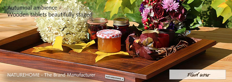 Wooden Trays with decoration