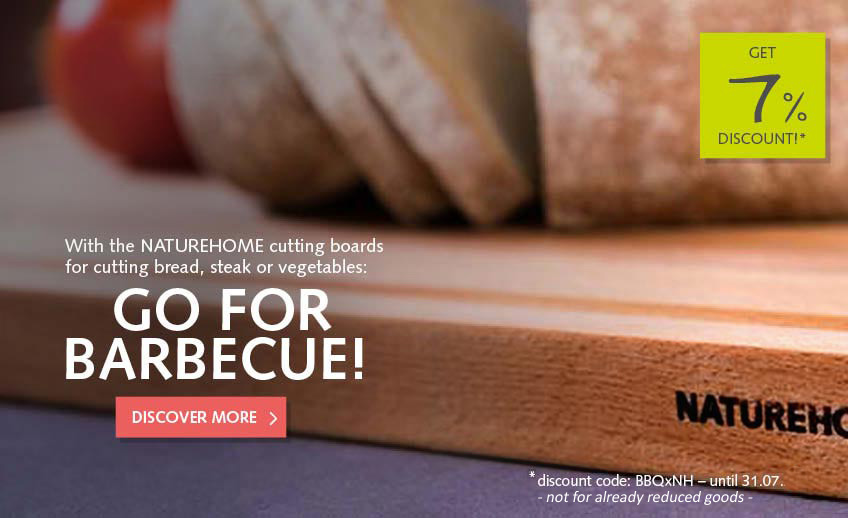 7% discount for all cutting boards