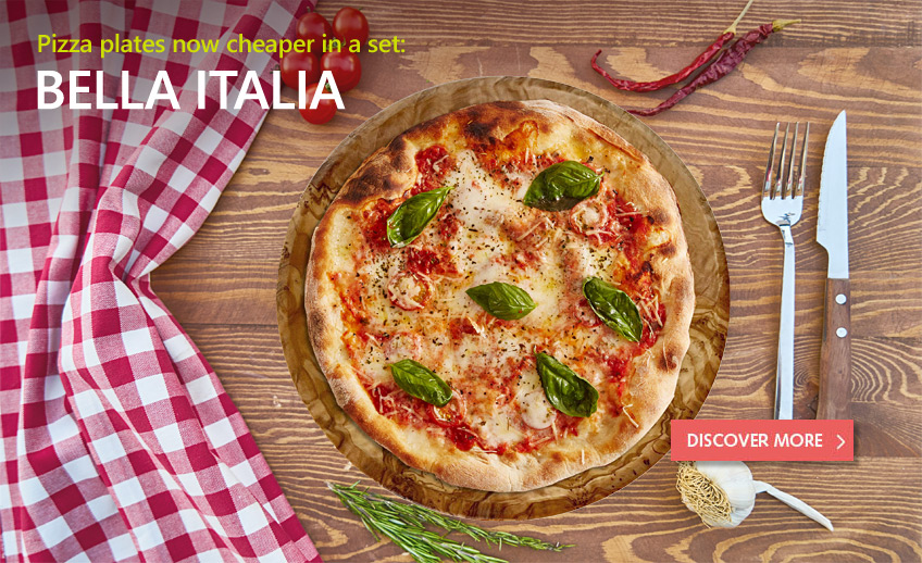 pizza plates for special set price