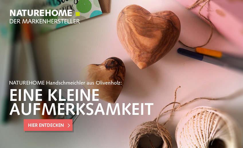 Holz-Herzen Handschmeichler