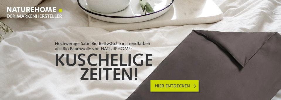 Kuschel-Bettwäsche aus Bio-Baumwolle